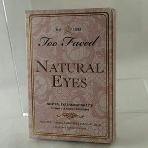 NEW TOO FACED NATURAL EYES EYESHADOW  PALETTE